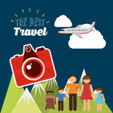 Travel vacations Royalty Free Stock Image