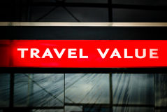Travel value icon shop icon Royalty Free Stock Image