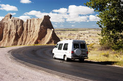 Travel Van Royalty Free Stock Photos