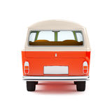 Travel van back Royalty Free Stock Images