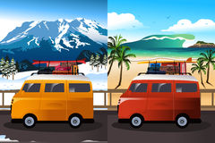Travel in Van Stock Images