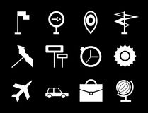 Travel vector icon set Stock Photography