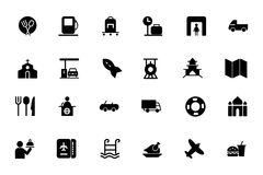 Travel Vector Icons 5 Stock Image