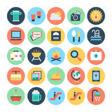 Travel Vector Icons 5 Royalty Free Stock Photo