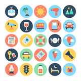 Travel Vector Icons 3 Royalty Free Stock Photo