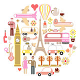 Travel - vector illustration Stock Photography