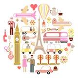 Travel - vector illustration Stock Photography