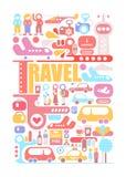 Travel vector illustration stock illustration