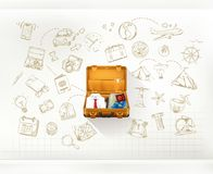 Travel vector infographics Stock Photo