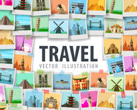 Travel vector logo design template. trip or Royalty Free Stock Image