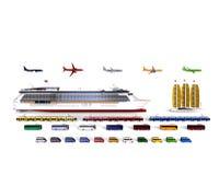 Travel vehicles concept Stock Photos