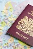 Travel visa Stock Photos