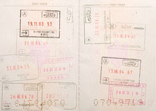 Travel visas Stock Photos