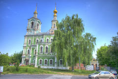 Church of St. Nikita Stock Images