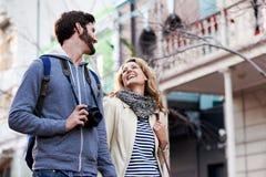 Travel walking city Royalty Free Stock Photo
