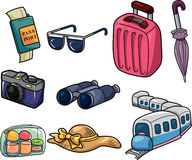 Travel web icon Royalty Free Stock Image