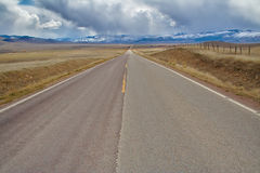 Travel on the Wild Open Road Stock Photography
