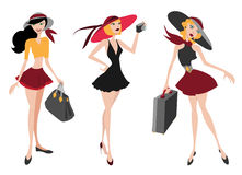 Travel woman Stock Image