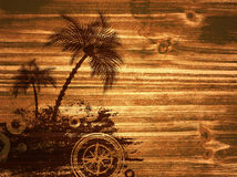 Travel Wooden Background Royalty Free Stock Photos