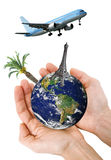 Travel the world concept Stock Images
