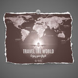 Travel the world design Stock Photo