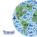 Travel world wide Royalty Free Stock Image