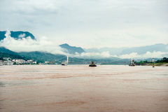 Travel on the Yangtze River Stock Photography