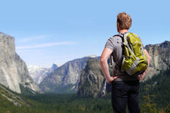 Travel in Yosemite Park royalty free stock image
