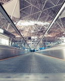 Travelator at the airport Royalty Free Stock Images
