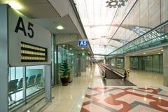 Travelator en el aeropuerto de Suvarnabhumi fotografía de archivo