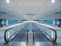 Travelator In Airport Royalty Free Stock Images