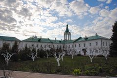 Yaroslavl Region, the city of Rostov, Monastery, Church. They traveled through the Yaroslavl region, drove into the city of Rosto, decided to take a walk Stock Photos