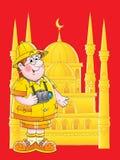 Traveler royalty free illustration