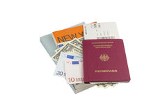 Traveler Equipment Royalty Free Stock Photo