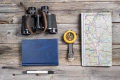 Traveler equipment Stock Photo