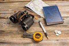 Traveler equipment Stock Images