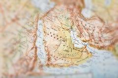 Traveler focused on Arabia Royalty Free Stock Photo