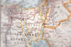 Traveler focused on Sinai Stock Images