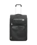 Traveler Large bag with wheels Royalty Free Stock Image