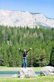 Traveler outdoor Royalty Free Stock Photos