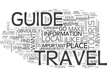 A Traveler S Bible Word Cloud Royalty Free Stock Image