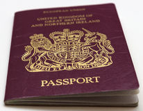 Traveler's passport Royalty Free Stock Photo