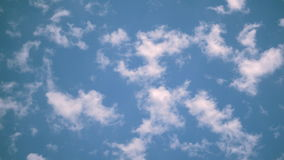 Traveler Traveling Clouds stock footage