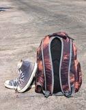 Traveler - Vertical image Stock Photos