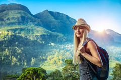 Woman traveling Stock Photos
