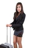 Traveler woman Stock Image