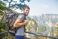 Travelers in china Royalty Free Stock Images
