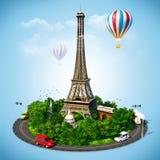 Traveling stock illustration