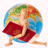 Traveling all over the world Stock Images