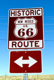 Traveling Along Route 66 royalty free stock images